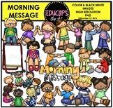 Morning Message Clip Art Bundle {Educlips Clipart}