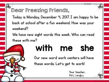 Morning Message December