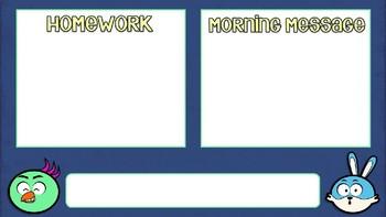 Morning Message Powerpoint Emoji