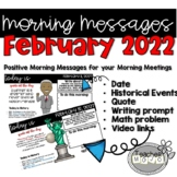 Morning Message February Bell Ringers