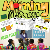 Morning Message. First Grade. Aug/Sept.