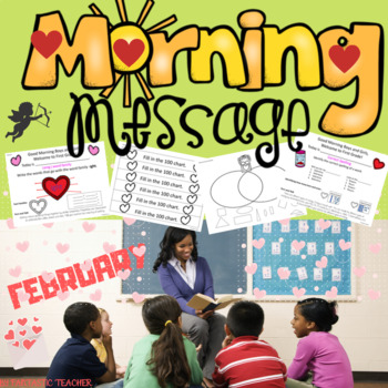 Morning Message. First Grade. February