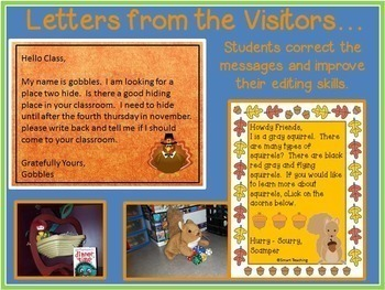Morning Message All Year - Morning Work for Traditional and Digital Classrooms!