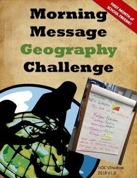 Morning Message Geography Challenge (Free First Month Sample!)