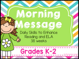 Morning Message K-2