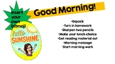 Morning Message Powerpoint Pineapple Theme Insert your own