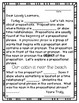 Morning Message: Preposition Edition