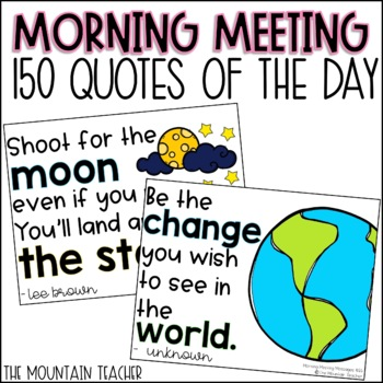 Morning Message Inspirational Quote of the Day