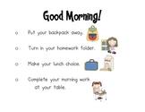 Morning Message Reminder *FREEBIE*