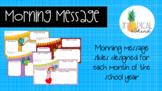 Morning Message Slides