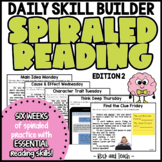READING TEST PREP: Morning Message Edition 2