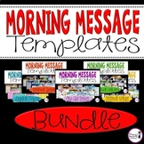 Morning Message Templates {BUNDLE}
