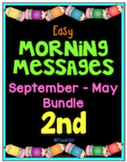 Morning Messages September - May Second Grade