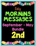 Morning Messages September - May Second Grade