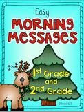 Morning Messages December First Second Grade