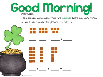 Morning Messages Bundle Projectable and Editable