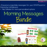 Yearlong Morning Messages Bundle Projectable and Editable