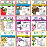 Morning Messages: Chit Chat Year Long BUNDLE NO PREP
