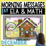 Morning Messages DIGITAL First-Grade DECEMBER