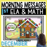 Morning Messages DIGITAL First-Grade DECEMBER