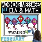 Morning Messages DIGITAL First-Grade FEBRUARY
