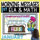 Morning Messages DIGITAL First-Grade JANUARY