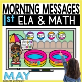 Morning Messages DIGITAL First-Grade MAY