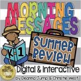 Morning Messages DIGITAL June & Summer Review