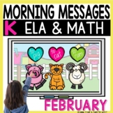 Morning Messages DIGITAL Kindergarten FEBRUARY
