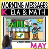 Morning Messages DIGITAL Kindergarten MAY