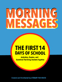 Morning Messages - First 14 days