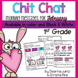 Morning Messages First Grade: Chit Chat February