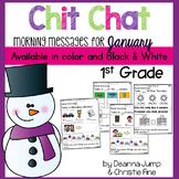 Morning Messages First Grade: Chit Chat January