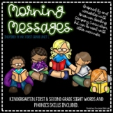 Morning Messages Inspired by ARC First Grade Unit 1
