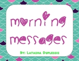 Morning Messages-Week One