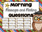 Morning Messages and Meeting Questions