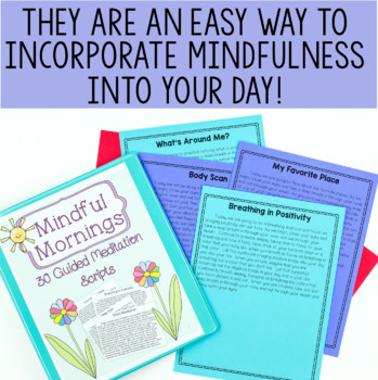 picture regarding Free Printable Guided Imagery Scripts called Careful Mornings: 30 Guided Meditation Scripts