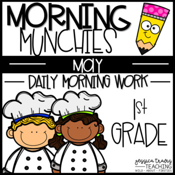 Morning Munchies {1st grade Morning Work - MAY}