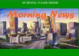 Morning News Template