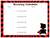 Visual Schedule for Morning Routine