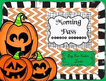 Morning Pass: Autumn Edition