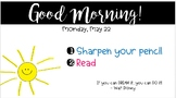 Morning Powerpoint Templates - EDITABLE