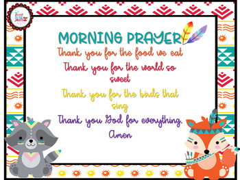 Morning Prayer / Tribal Style