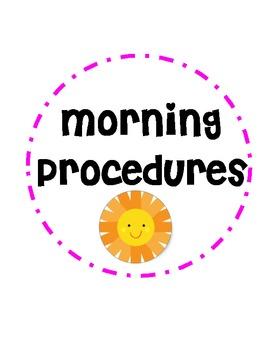 Morning Procedures / Polka dots
