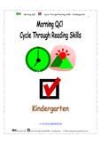 Morning QC! Cycle Through Reading Skills - Kindergarten