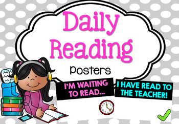 Morning Reading Posters