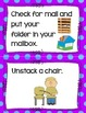 Morning Routine Anchor Chart Cards