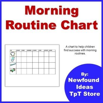 Morning Routine Checklist