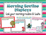 Morning Routine Display [Editable] for Smartboard Notebook