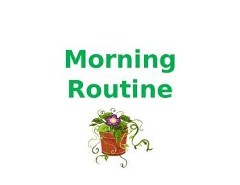 Morning Routine - Editable